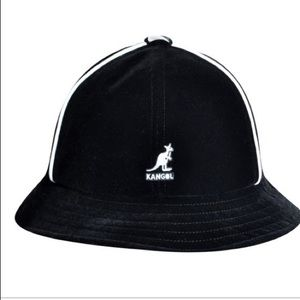 KANGOL track casual black velour hat